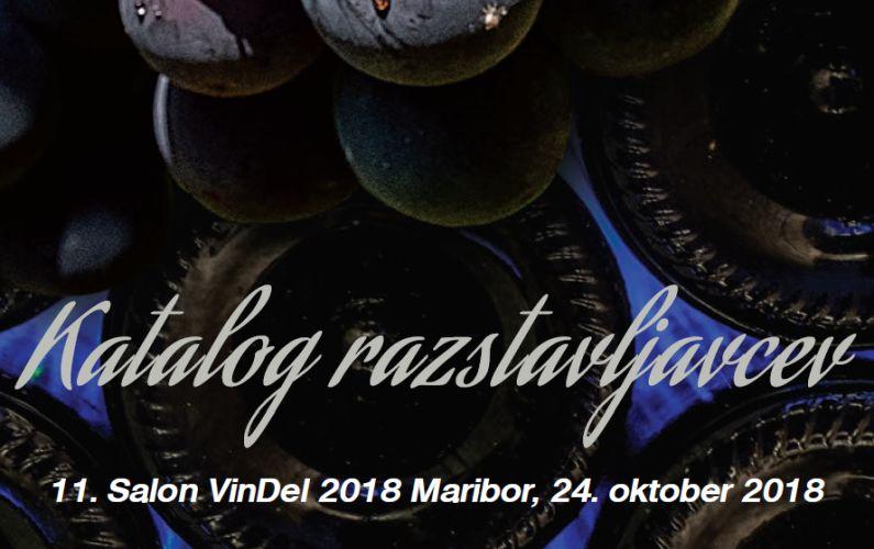 Katalog razstavljavcev Salona VinDel 2018
