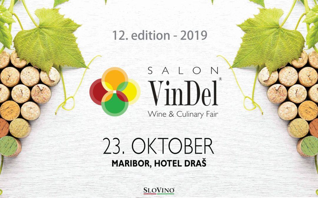 Dobrodošli na 12. Salonu VinDel!